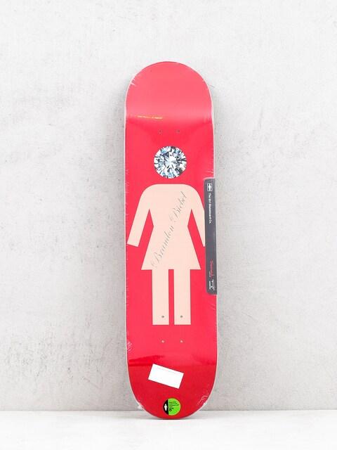 Doska Girl Skateboard X Diamond Biebel (red)