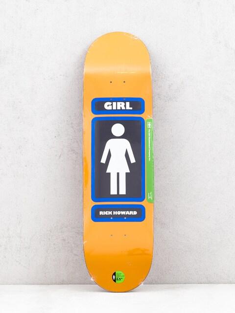 Doska Girl Skateboard Howard 93 Til (orange)