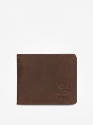 Peu0148au017eenka Herschel Supply Co. Hank Coin Leather Rfid (nubuck brown)