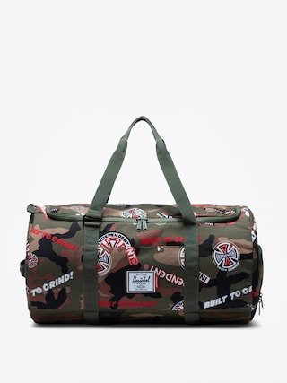 Taška Herschel Supply Co. Independent Sutton (woodland camo multi independent logo/cypress)