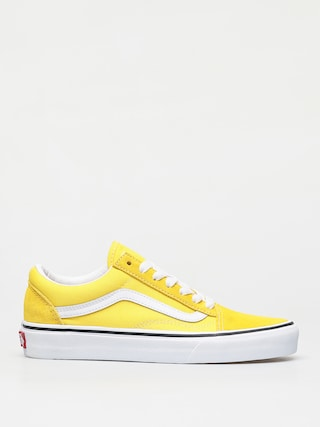 Topu00e1nky Vans Old Skool (vibrant yellow/true white)
