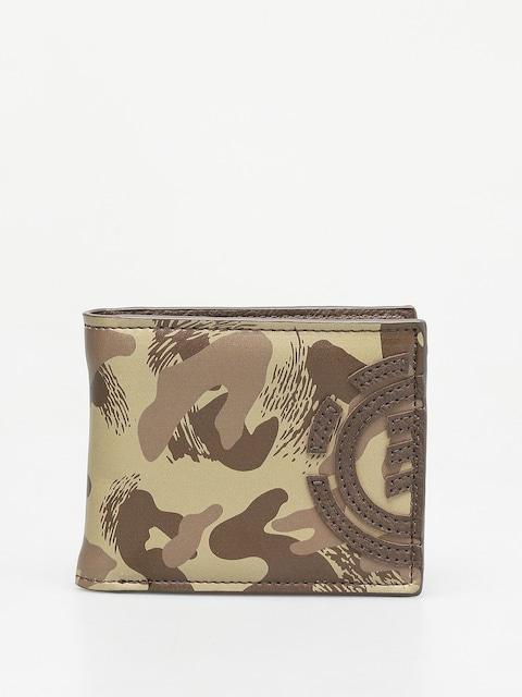 Peňaženka Element Daily (brown camo)