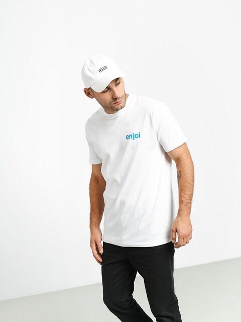 Tričko Enjoi Spot Check Premium (white)