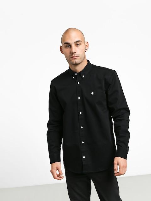 Košeľa Carhartt WIP Madison (black/white)