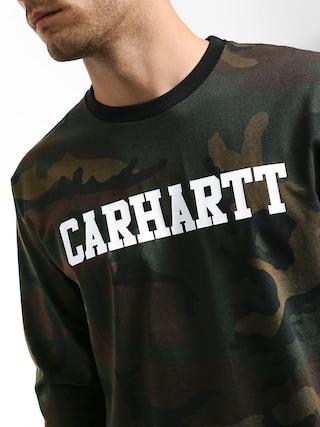 Triko Carhartt WIP College (camo evergreen/white)