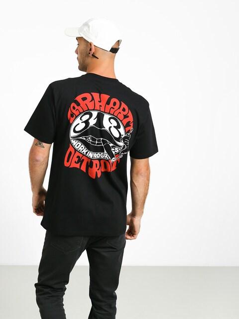 Tričko Carhartt WIP Clearwater (black)