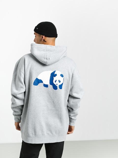 Mikina s kapucňou Enjoi Classic Panda HD (grey heather)