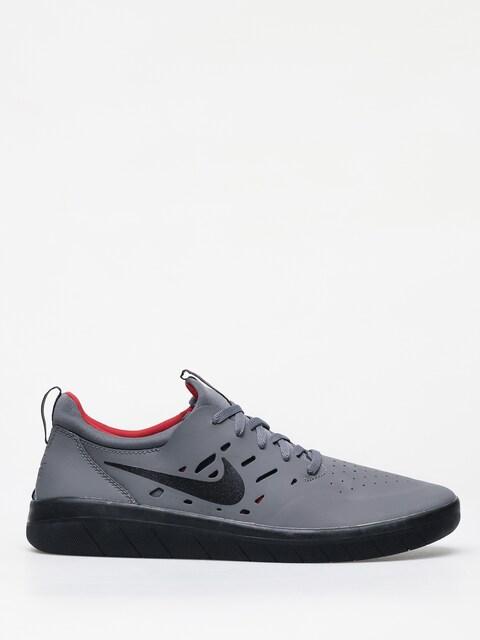 Topánky Nike SB Nyjah Free (dark grey/black gym red)
