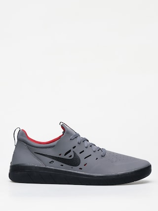 Topu00e1nky Nike SB Nyjah Free (dark grey/black gym red)
