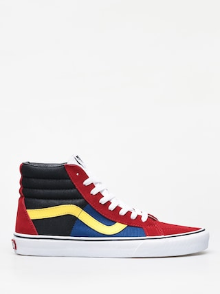 Topu00e1nky Vans Sk8 Hi Reissue (otw rally/chilli pepper/true white)