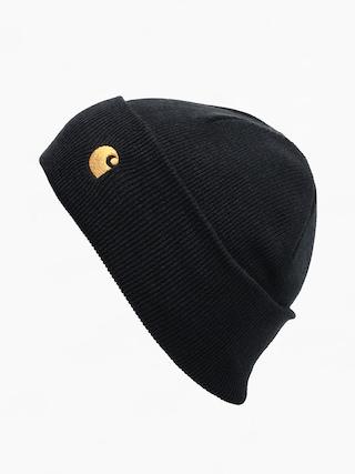 Čiapka Carhartt WIP Chase (black/gold)