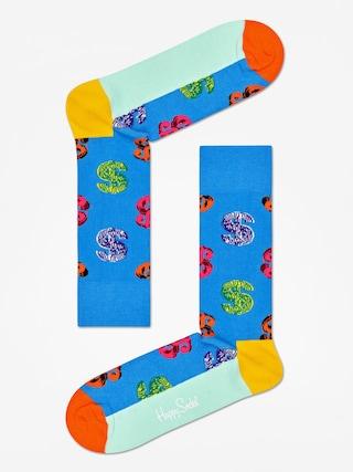 Ponožky Happy Socks Andy Warhol Dolar (blue)