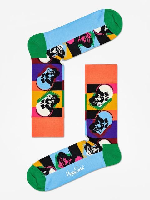 Ponožky Happy Socks Andy Warhol Skull