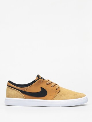 Topu00e1nky Nike SB Solarsoft Portmore II (wheat/black white)