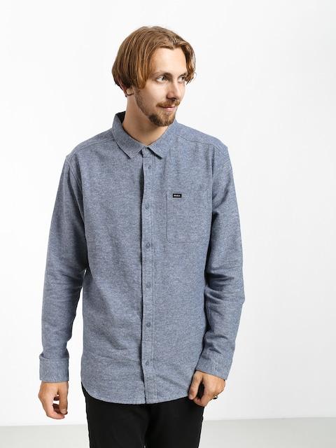 Košeľa RVCA Blackand Flannel L (china blue)