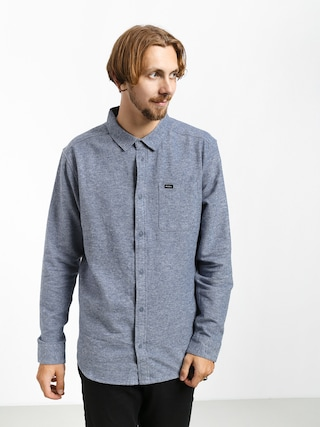 Kou0161eu013ea RVCA Blackand Flannel L (china blue)