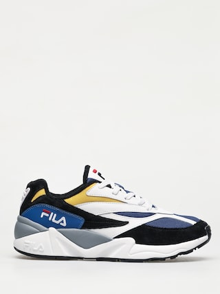 Topu00e1nky Fila V94M Low (black/white/citrus)