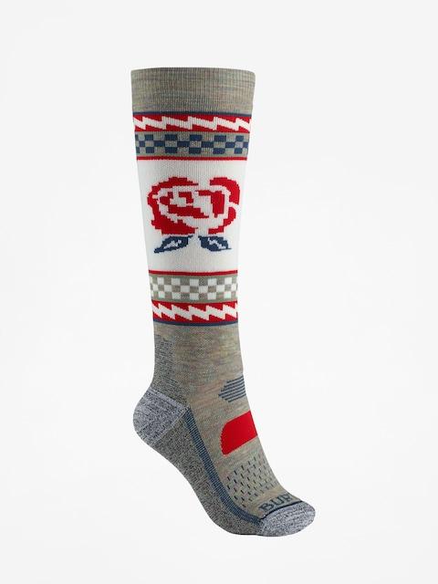 Ponožky Burton Performance Midweight Wmn (oatmeal heather)