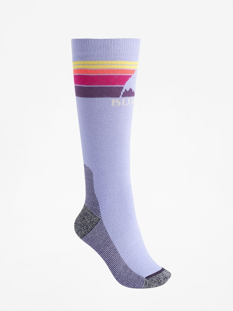 Ponožky Burton Emblem Midweight Wmn (aster purple)