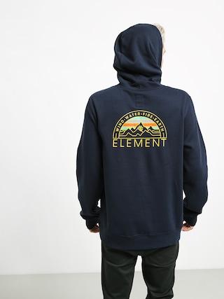 Mikina s kapucňou Element Odyssey HD (eclipse navy)
