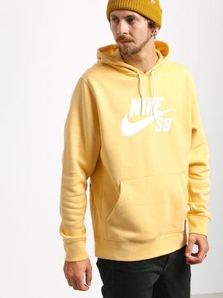 Mikina s kapucňou Nike SB Sb Icon HD (celestial gold/summit white)