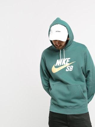 Mikina s kapucňou Nike SB Sb Icon HD (bicoastal/celestial gold)
