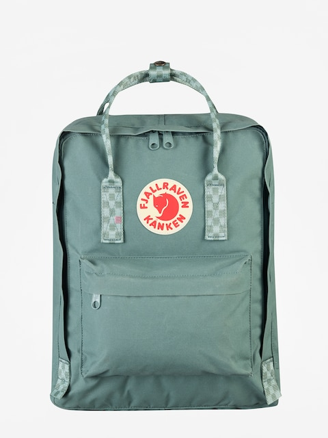 Batoh Fjallraven Kanken (frost green/chess pattern)