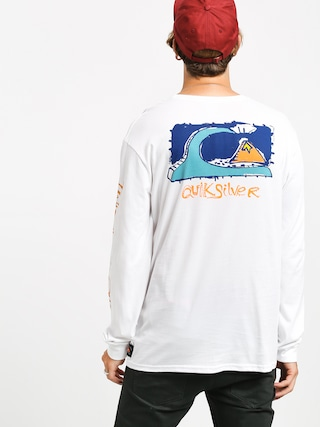 Triko Quiksilver Art House (white)