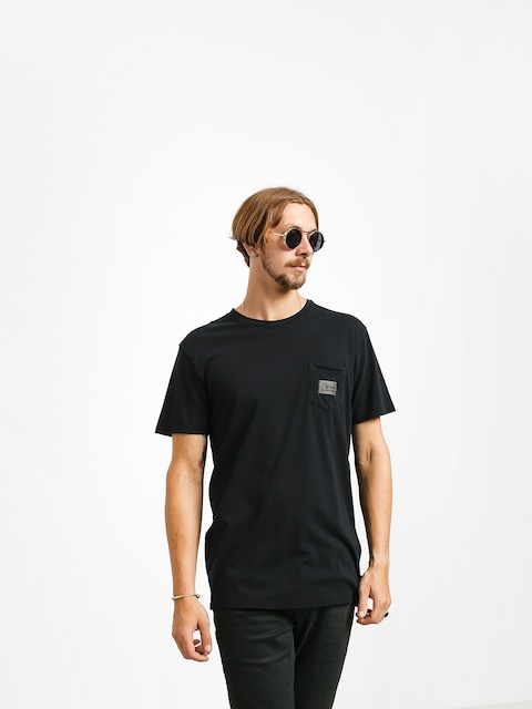 Tričko Quiksilver Above The Lip (black)