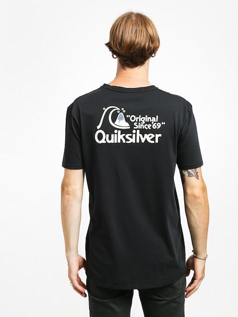 Tričko Quiksilver Bouncing Heart (black)
