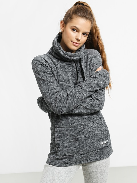Mikina Roxy Snow Flakes Vibes Wmn (charcoal heather)