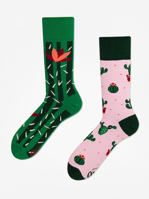 Ponožky Many Mornings Summer Cactus (green/pink)