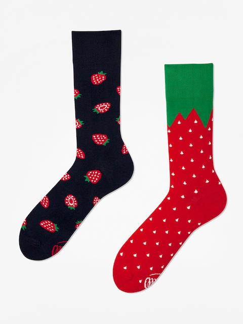 Ponožky Many Mornings Strawberries (navy/red)