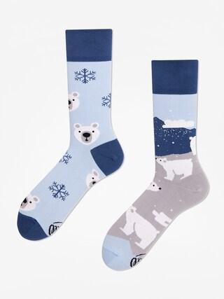 Ponožky Many Mornings Polar Bear (navy/light blue)