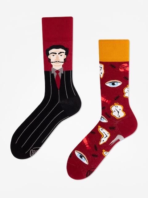 Ponožky Many Mornings Salvadorable (burgundy)
