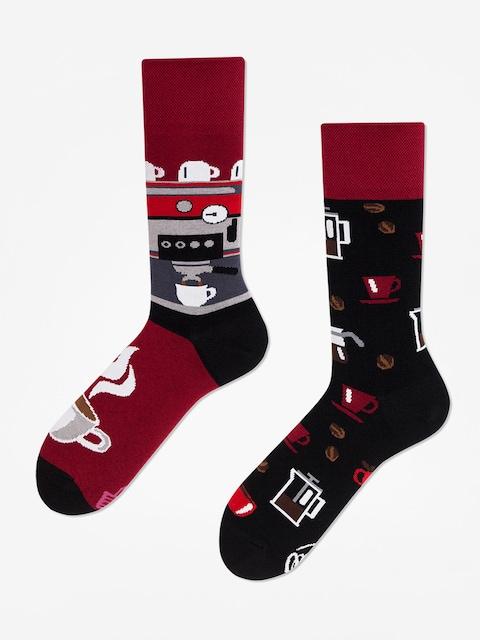 Ponožky Many Mornings Dark Espresso (burgundy/black)