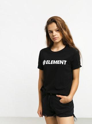 Tričko Element Logo Wmn (black)