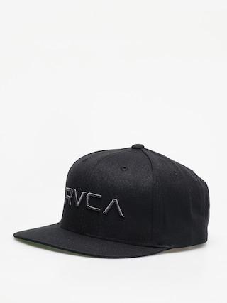 u0160iltovka RVCA Rvca Twill Snapback ZD (black/charcoal)