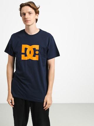 Tričko DC Star (black iris/orange p)