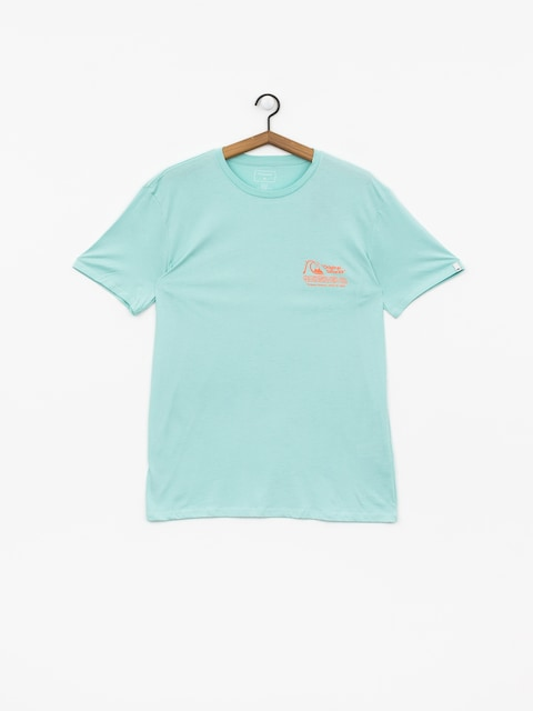 Tričko Quiksilver Daily Wax (pastel turquoise)