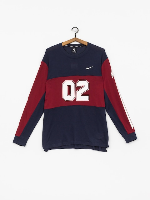 Triko Nike SB Top Mesh Gfx (obsidian/team red/obsidian/summit white)