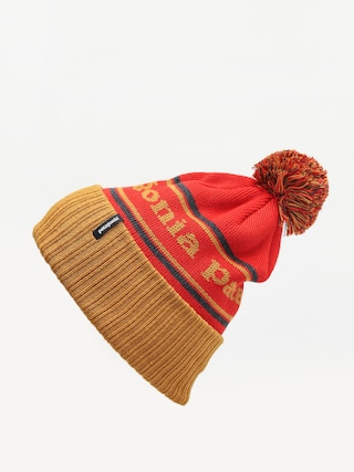 u010ciapka Patagonia Powder Town Beanie (park stripe/hammonds gold)