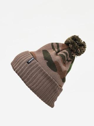 u010ciapka Patagonia Powder Town Beanie (bear witness knit/sage khaki)