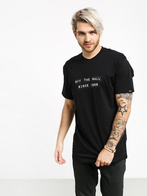 Tričko Vans X Baker (black)