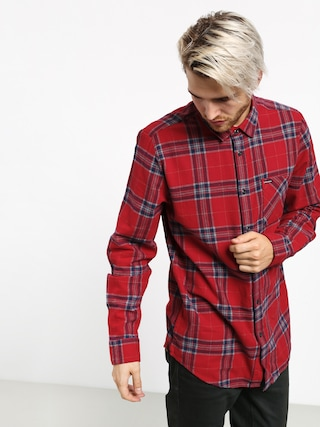 Kou0161eu013ea Volcom Caden Plaid (engine red)