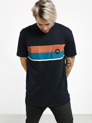 Tričko Quiksilver Multiply Stripe (sky captain)