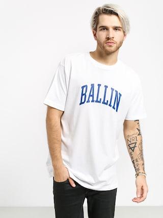 Tričko K1x Ballin (white)