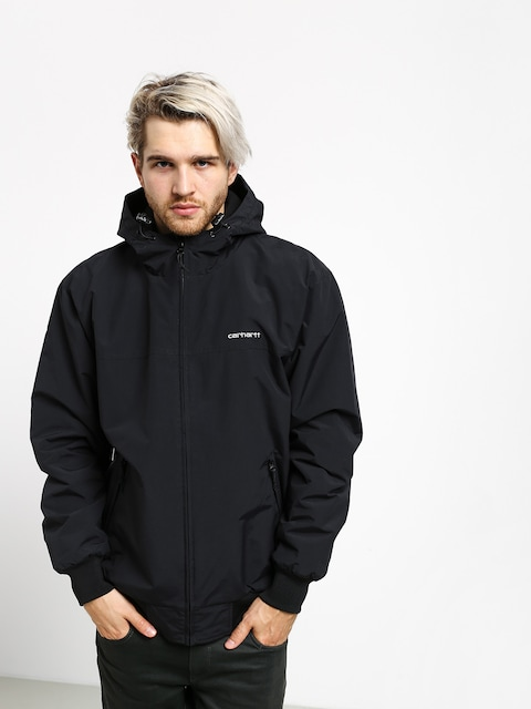 Bunda Carhartt WIP Hooded Sail (black/white)