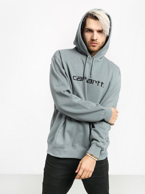 Mikina s kapucňou Carhartt WIP Carhartt HD (cloudy/black)