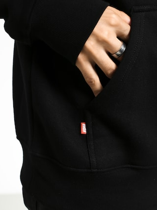 Mikina s kapucňou Koka Lick HD (black)